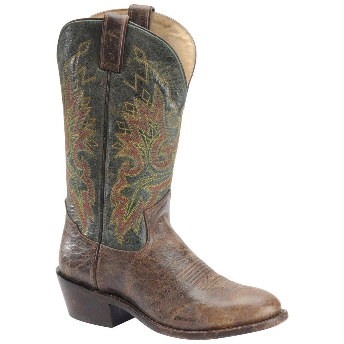 Men's 12 inch Double H® Wide Square Toe Roper Cowboy Boots