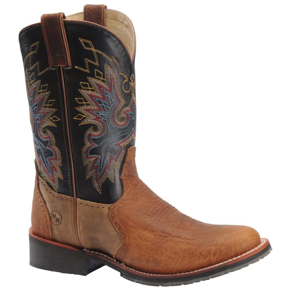 Men's 11 inch Double H® ICE Roper Cowboy Boots