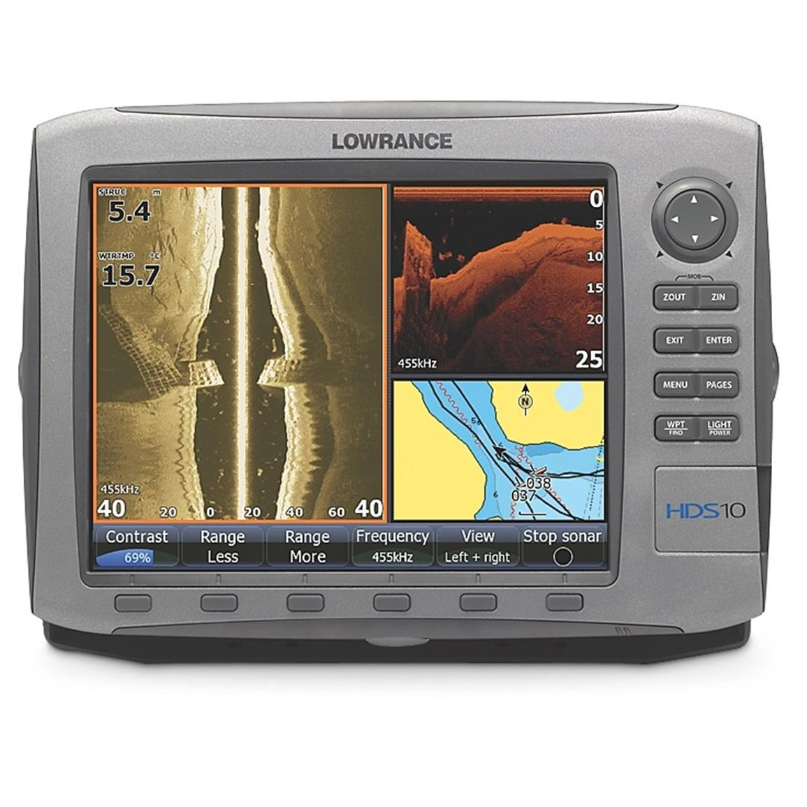 Lowrance® HDS - 10 Fishfinder / GPS Chartplotter