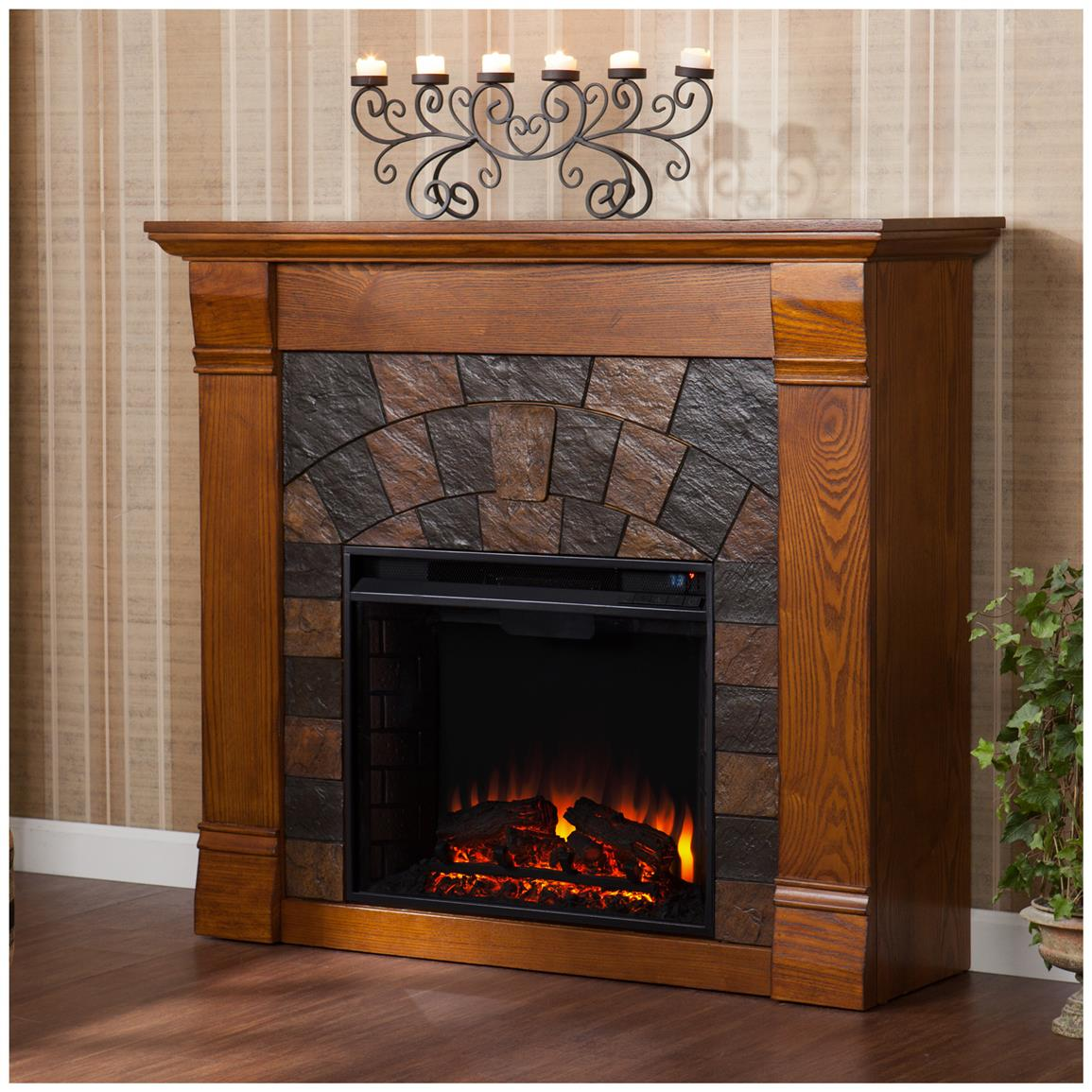 Underwood Electric Fireplace