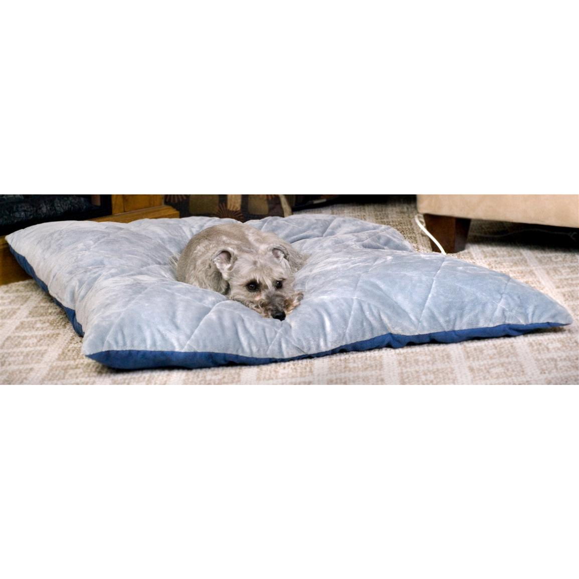 Quilted Thermo-Bed, Blue