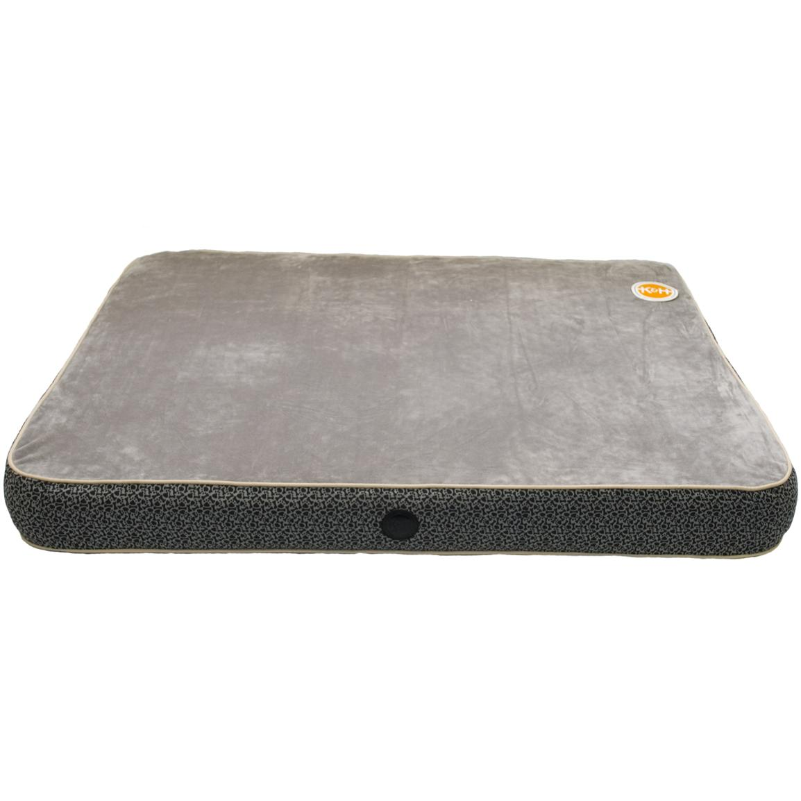 Superior Orthopedic Bed, Grey