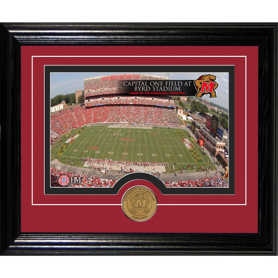 Highland Mint® University of Maryland Capital One Field at Byrd Stadium Desktop Photo Mint