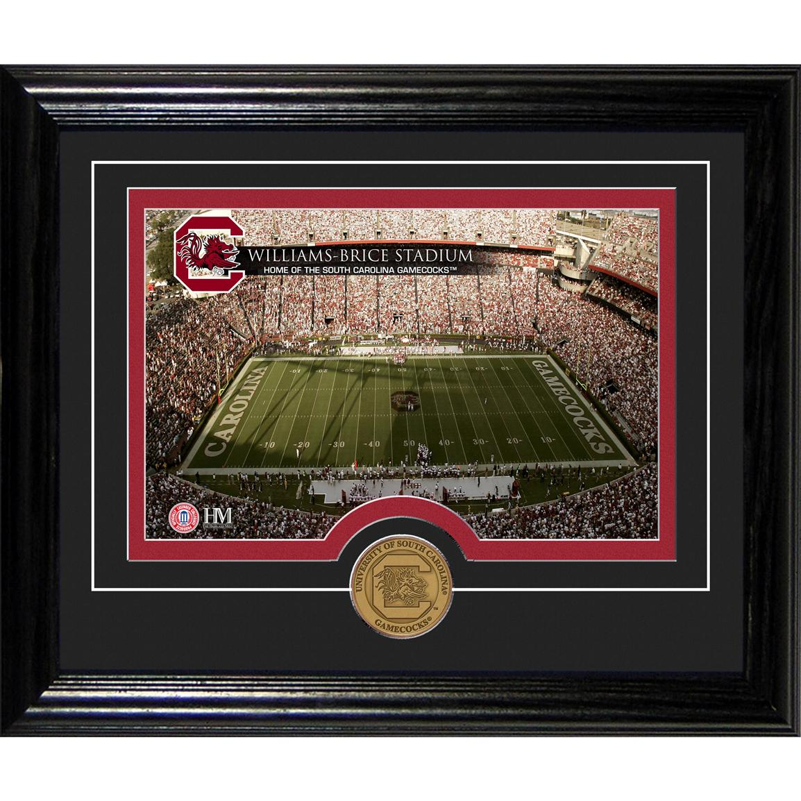 Highland Mint® University of South Carolina Williams Brice Stadium Desktop Photo Mint
