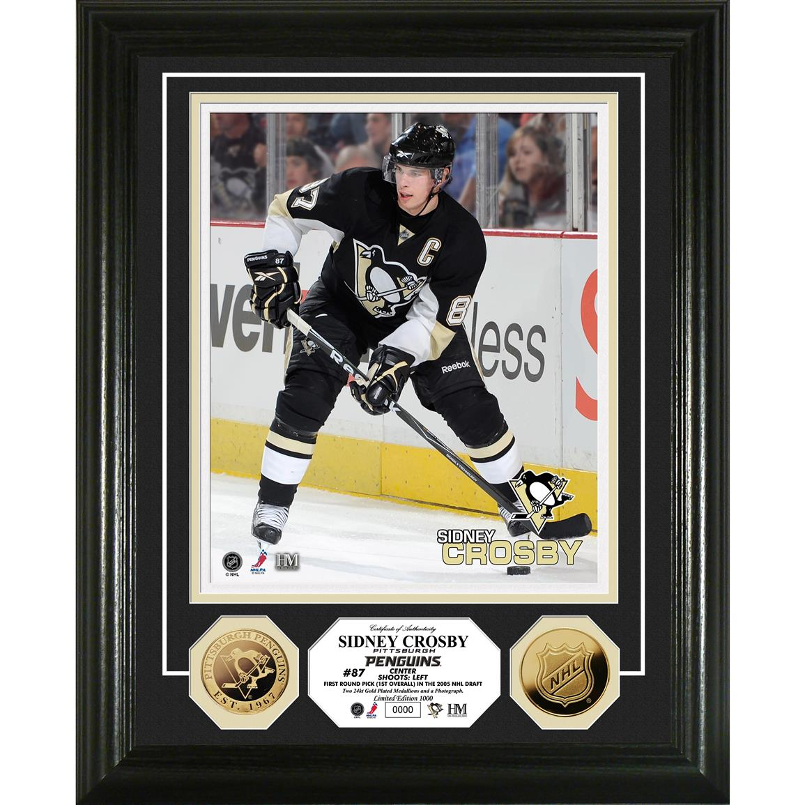 Sidney Crosby 24K Gold Coin Photo Mint