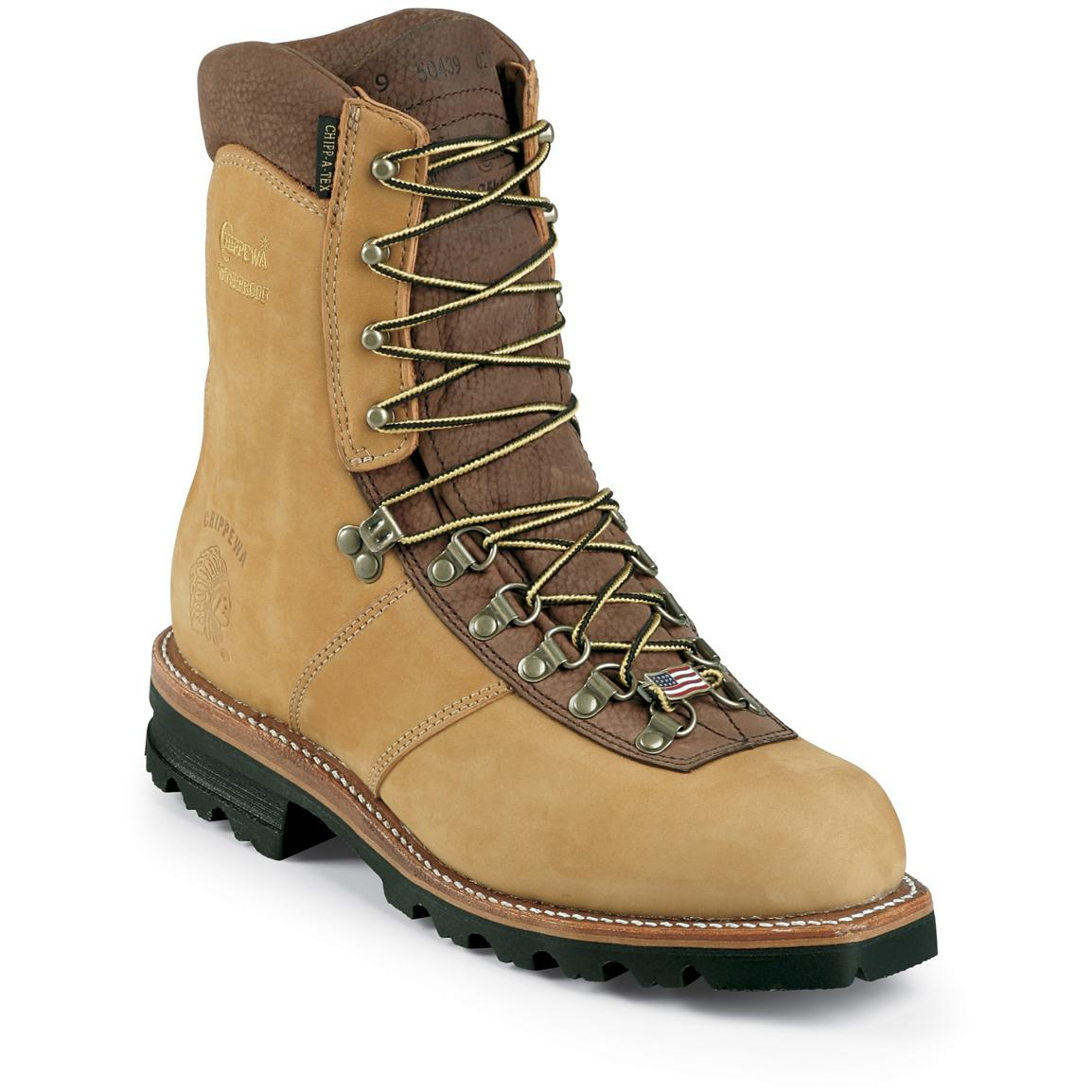 Men's Chippewa® 9 inch Waterproof Insulated -40° Work Boots
