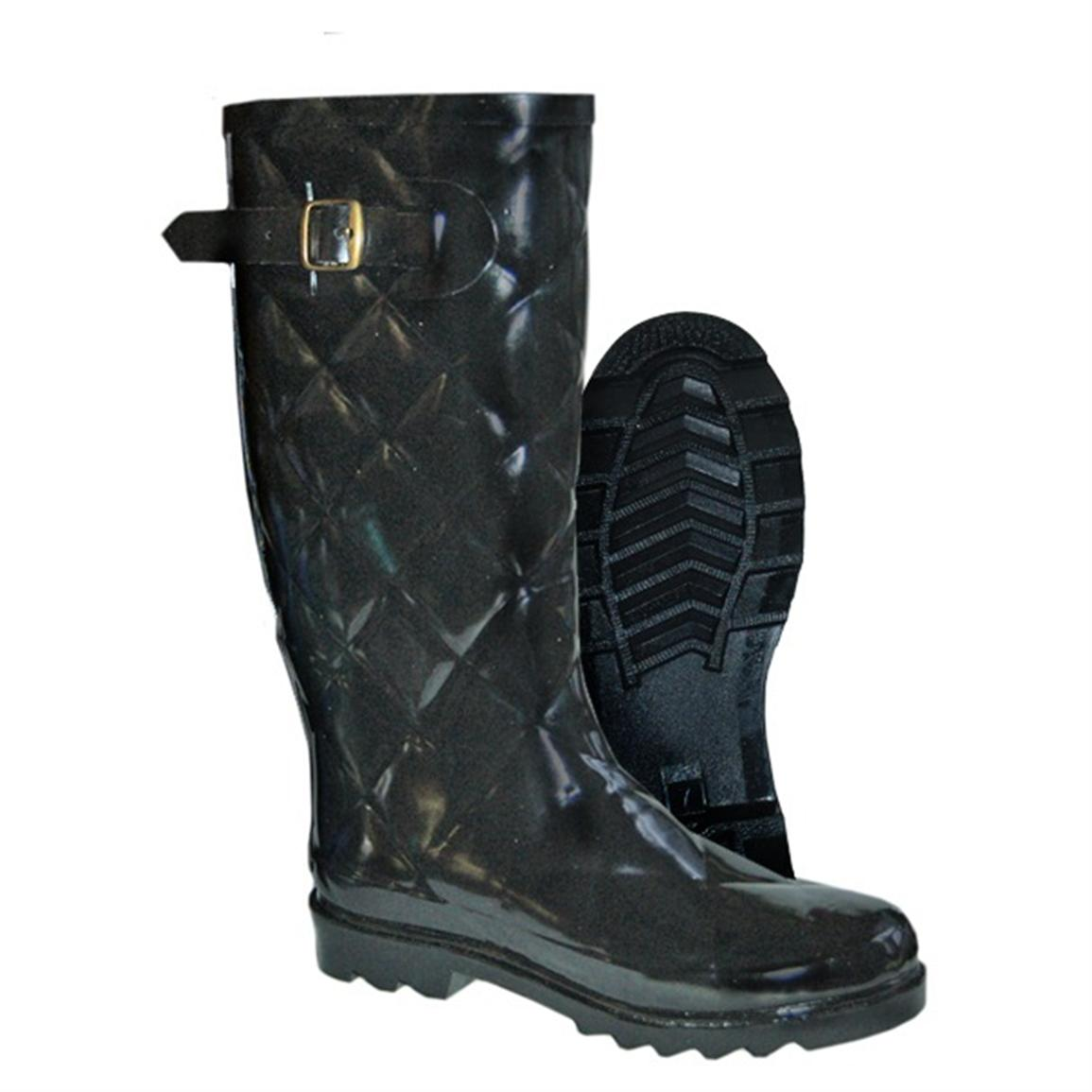 Women S Itasca Spring Lake Waterproof Quilted Rubber