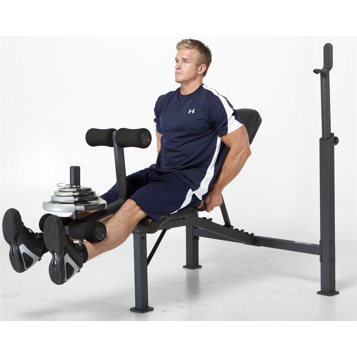 Impex® Competitor Olympic Weight Bench