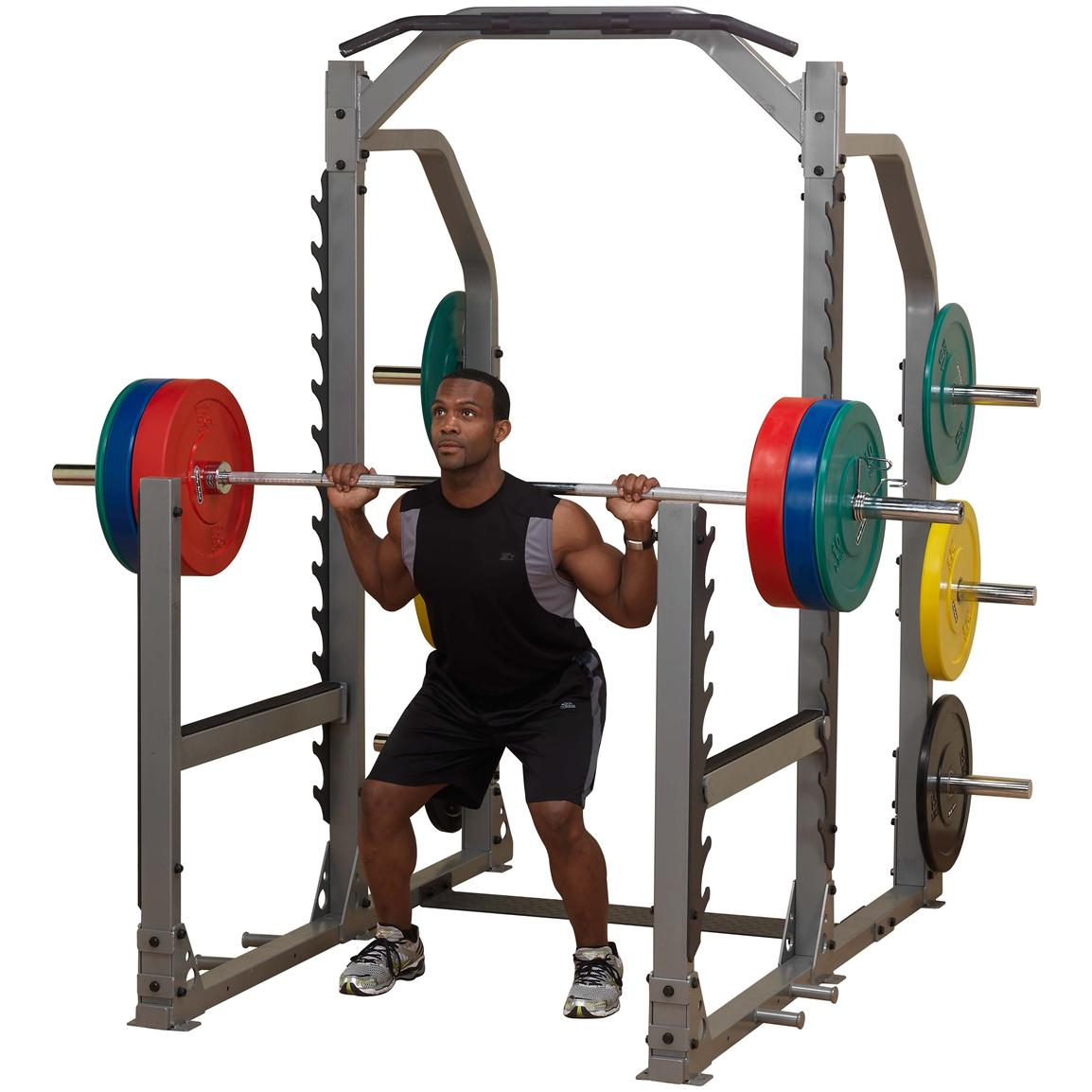 Body-Solid® Pro Clubline Multi-Squat Rack