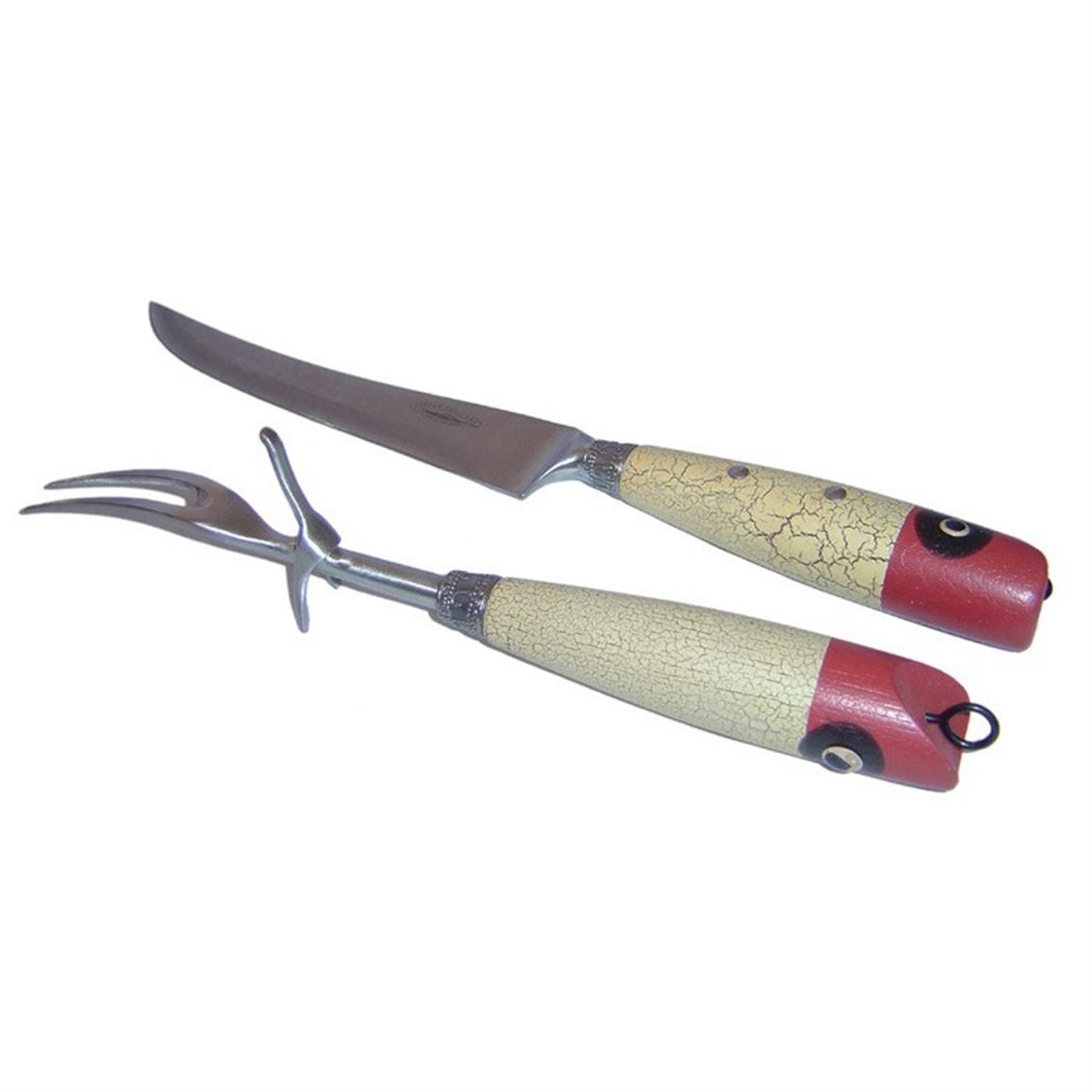 Teton Grill Co. Fishing Carving Set
