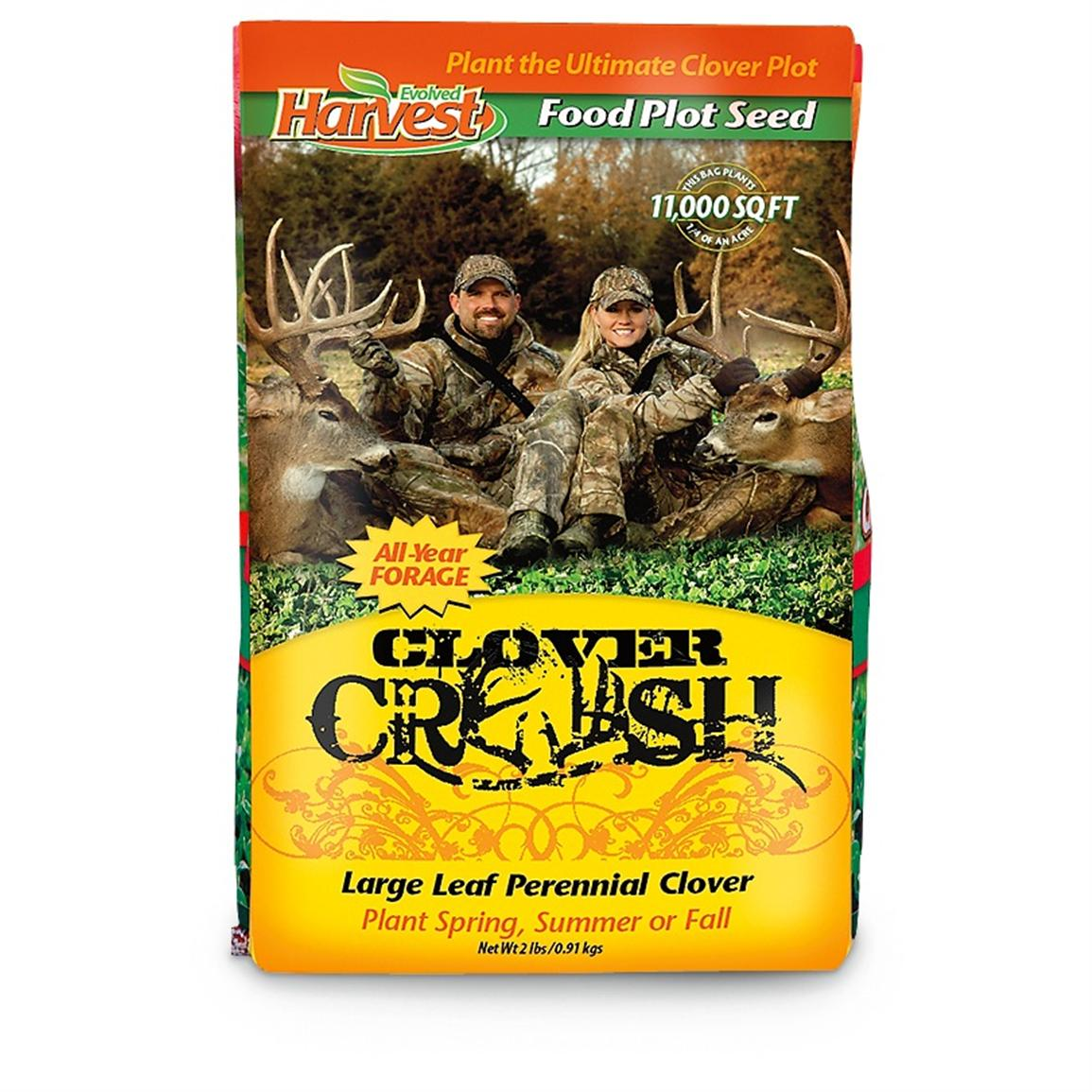 Two 2-lb. Bags of Evolved Habitats® Clover Crush