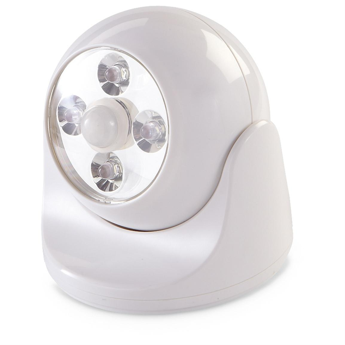 Maxsa® LED Anywhere Light, White