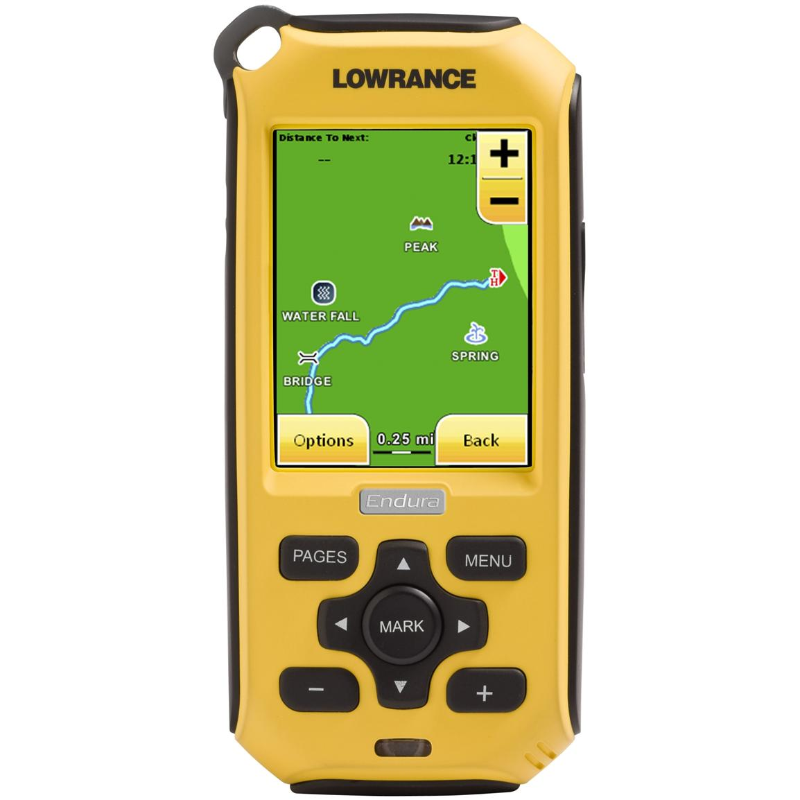 Lowrance Endura Out & Back Handheld GPS Navigator, 2.7