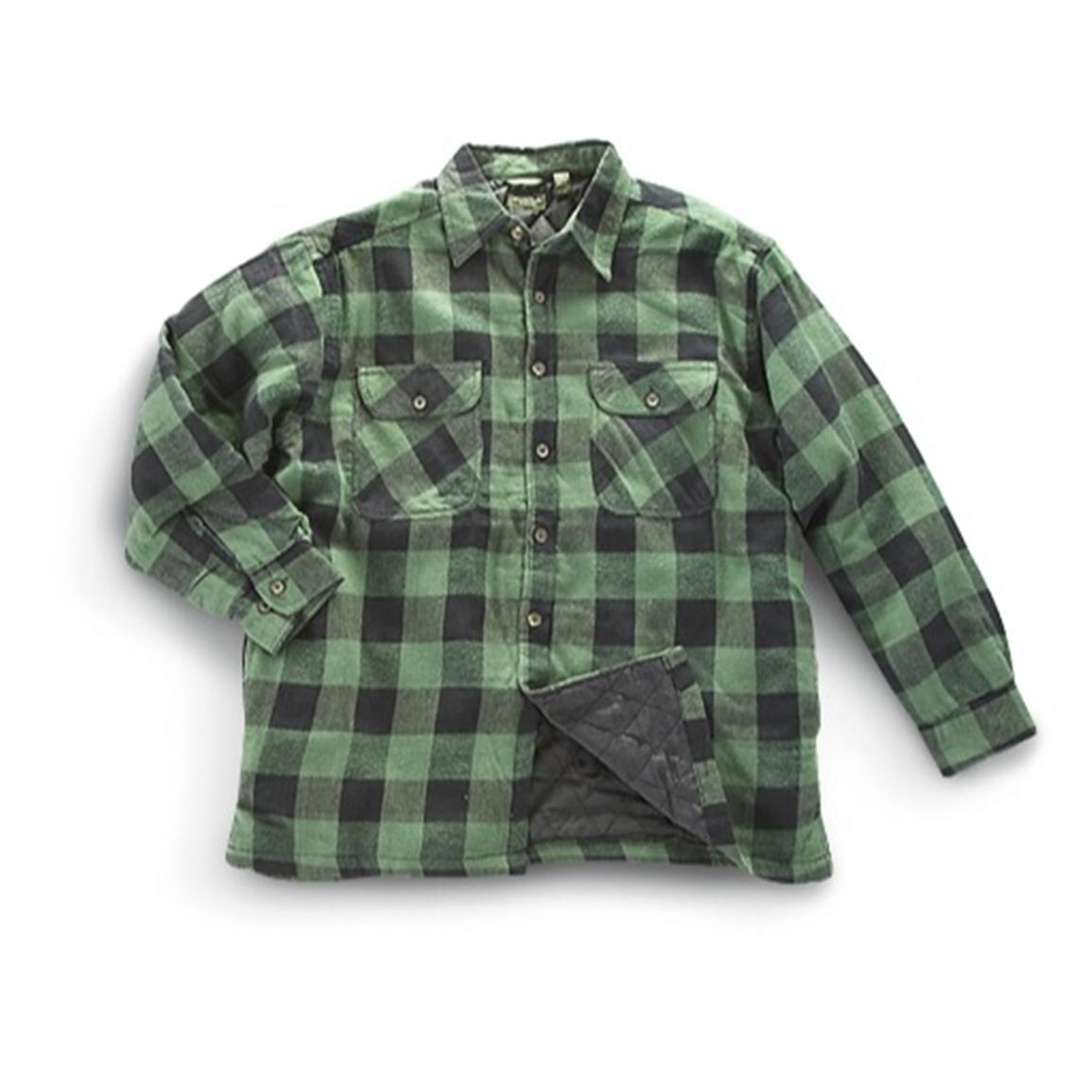Mountain Ridge 174 Quilted Flannel Shirt Jacket 203347