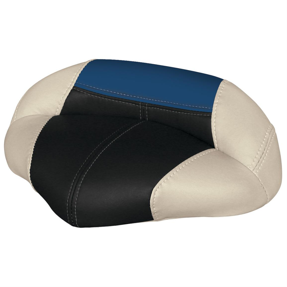 Wise® Blast-Off™ Series Pro Seat, Mushroom / Black / Blue
