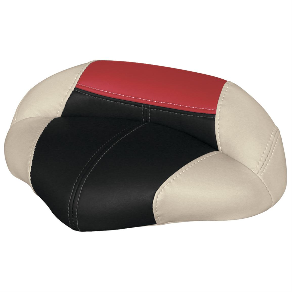 Wise® Blast-Off™ Series Pro Seat, Mushroom / Black / Red