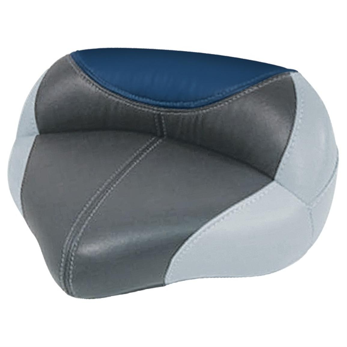 Wise® Blast-Off™ Series Traditional Pro Seat, Grey / Charcoal / Blue
