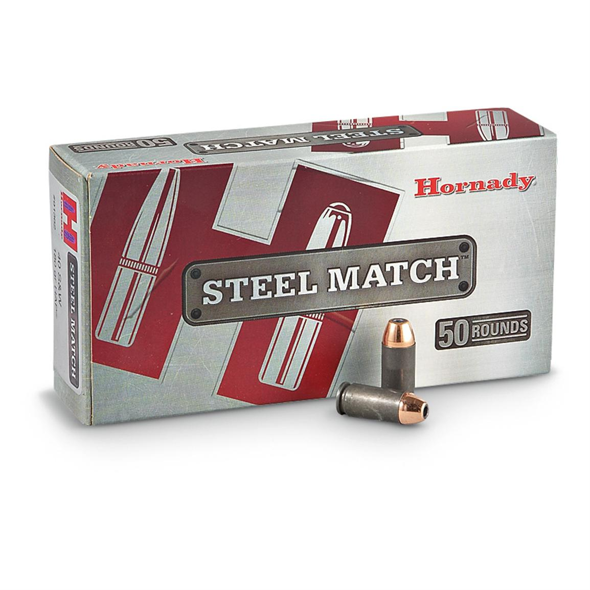 Hornady® Steel Match™ Ammo