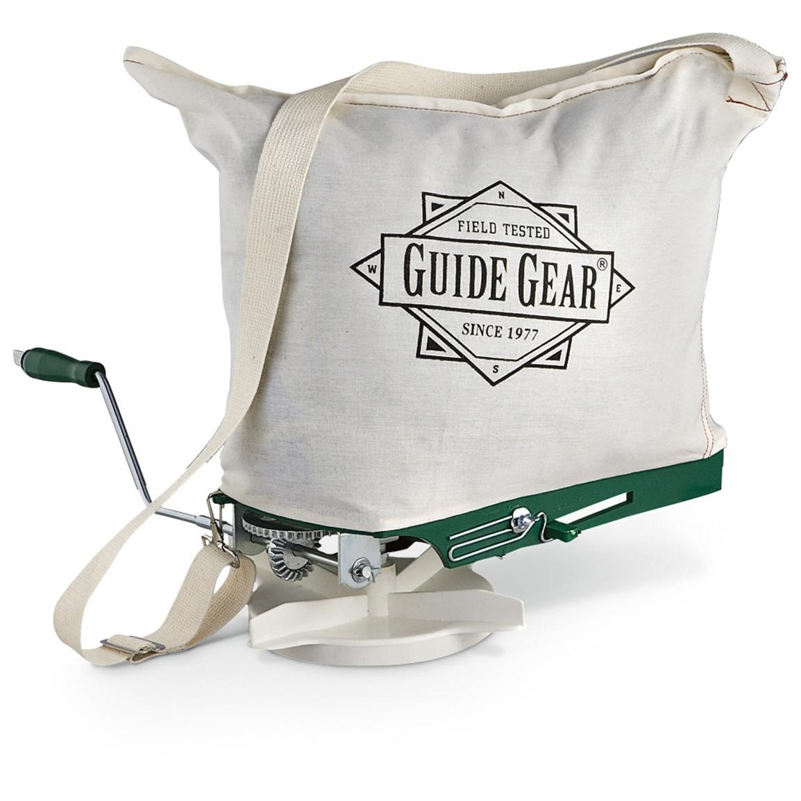 Guide Gear® 20-lb. Hand-cranked Seeder / Spreader