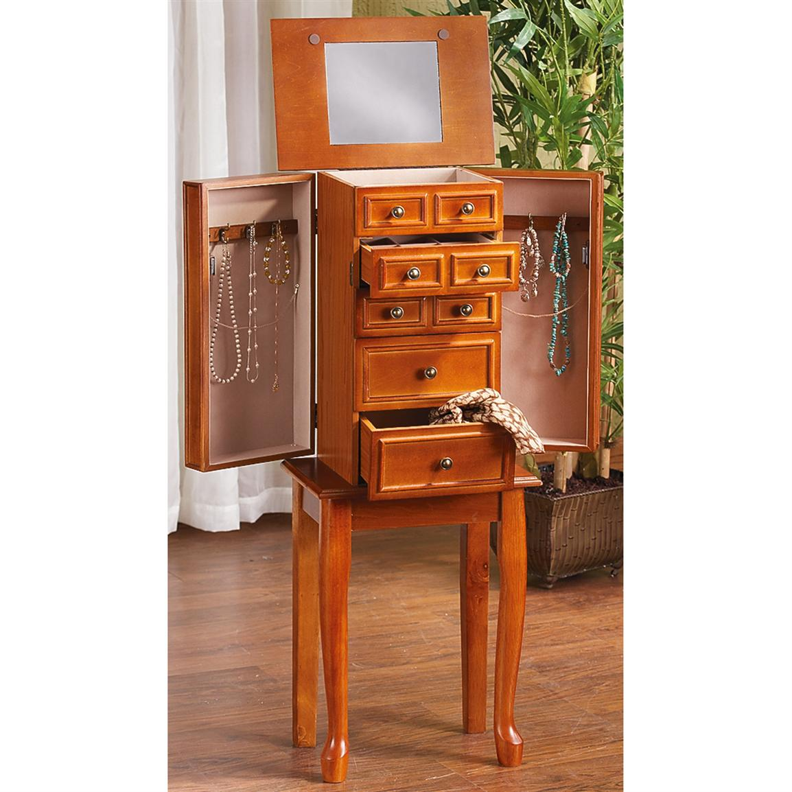 new view gifts and accessories jewelry armoire jewelry ideas