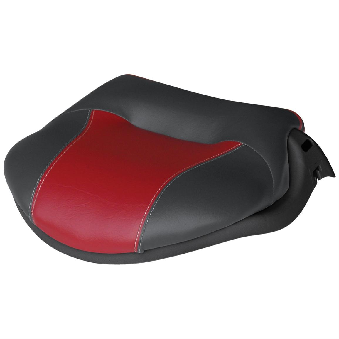 Wise® Casting Deck Pro Seats, Charcoal / Red