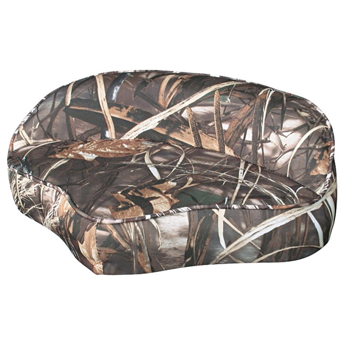 Wise® Casting Camo Boat Seat, Mossy Oak Shadow Grass
