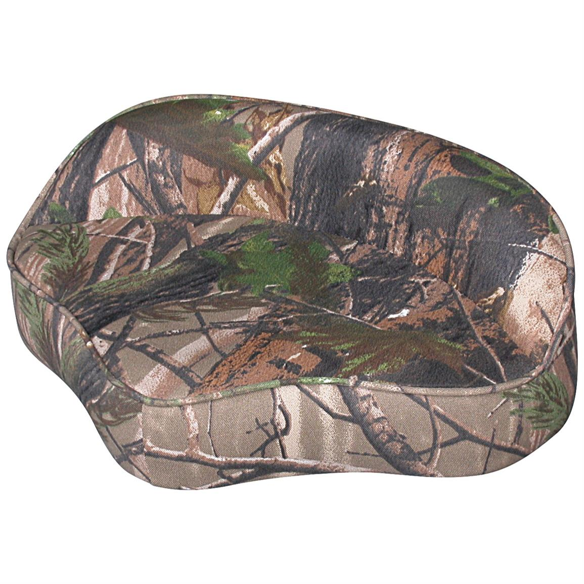 Wise® Casting Camo Boat Seat, Advantage All Purpose Green