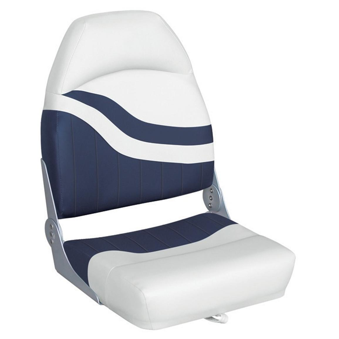 Wise® Weekender Series Boat Seat, White / Navy
