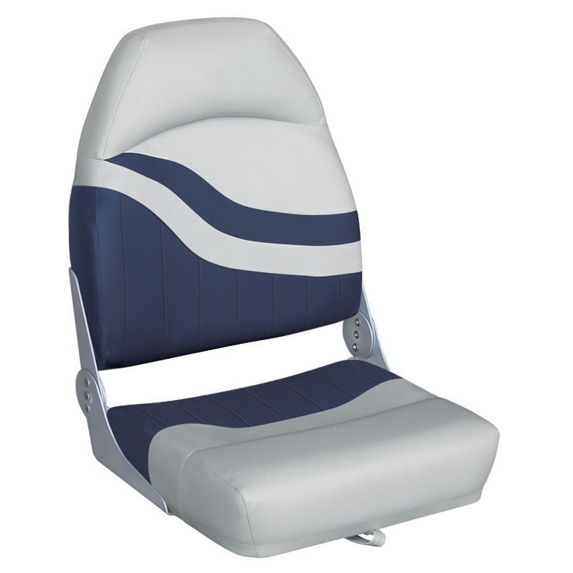 Wise® Weekender Series Boat Seat, Grey / Navy