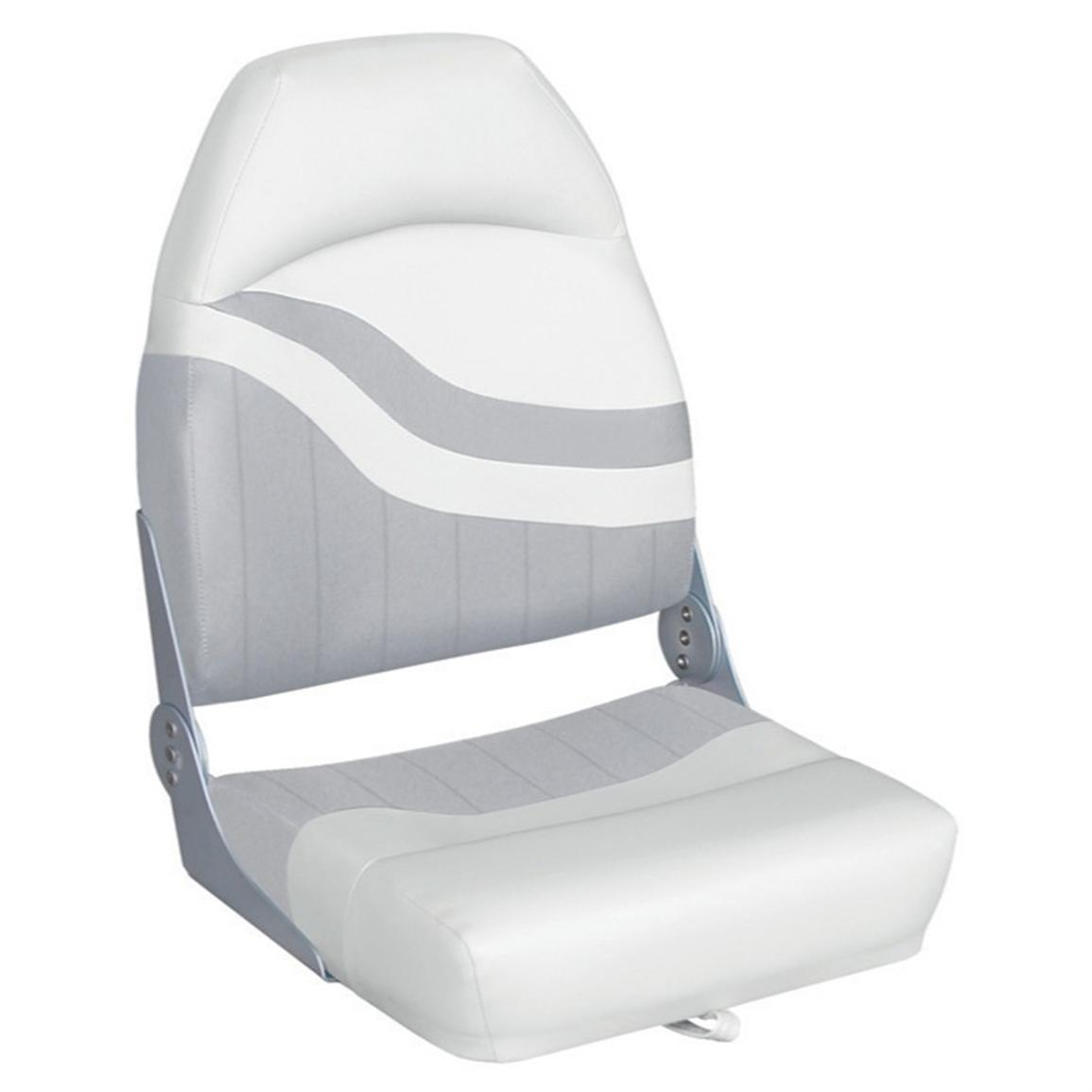 Wise® Weekender Series Boat Seat, White / Grey