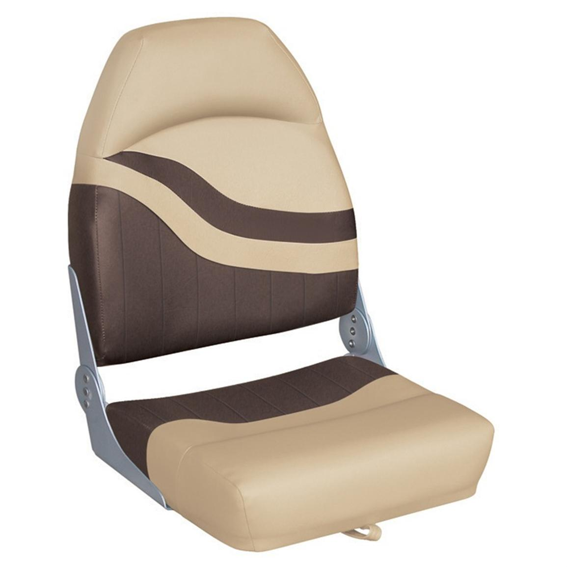 Wise® Weekender Series Boat Seat, Sand Brown
