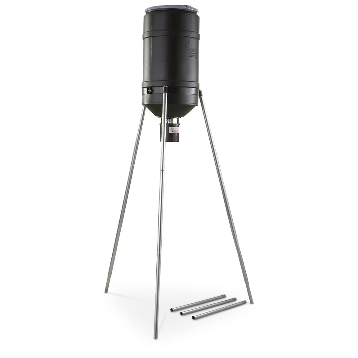 American Hunter Tripod Feeder, 225 lb. Capacity