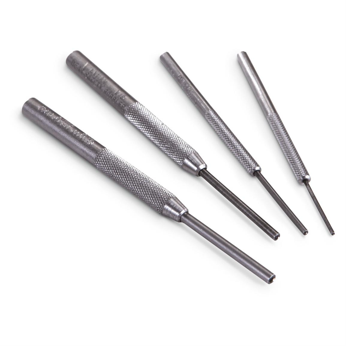 4-Pc. Roll Pin Punch Set