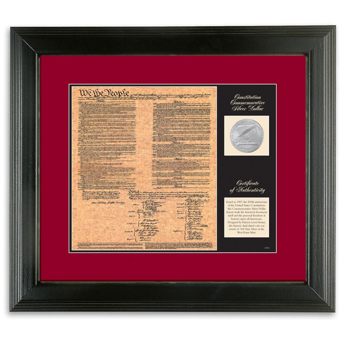 American Coin Treasures® U.S. Constitution Birth of a Nation Display