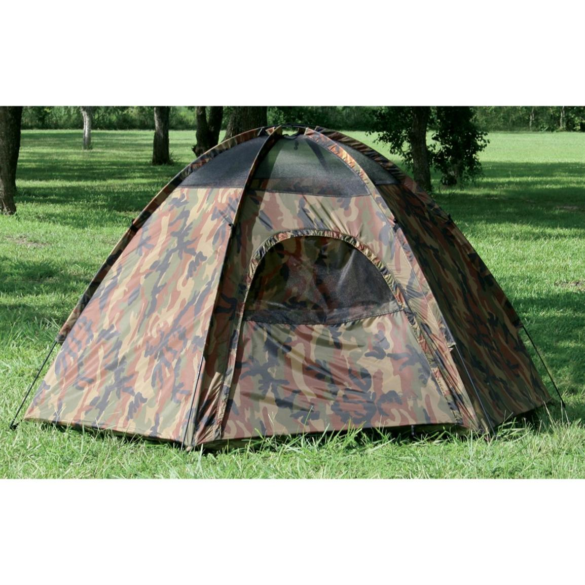 Texsport® Hide-A-Way Camouflage 3-person Dome Tent