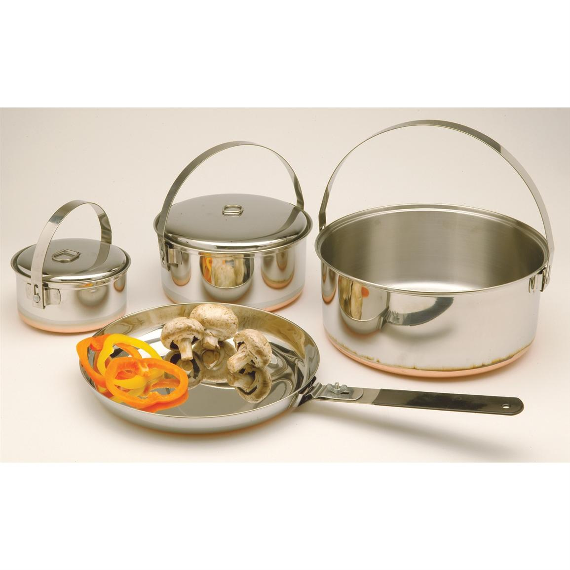 Texsport® Family Stainless Steel Cook Set