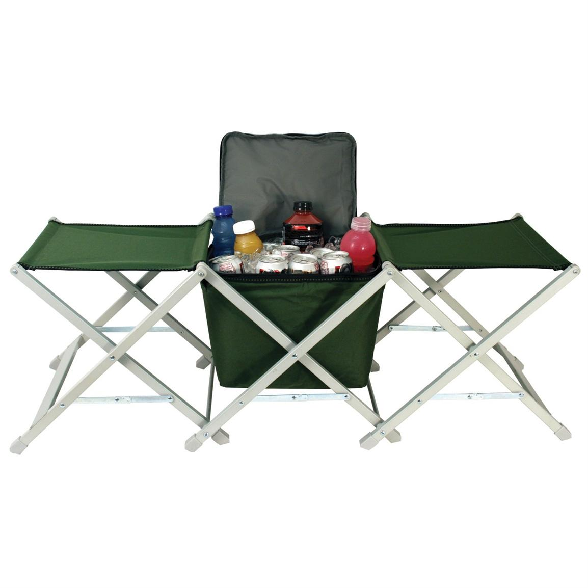 Texsport® Camp Stools with Cooler