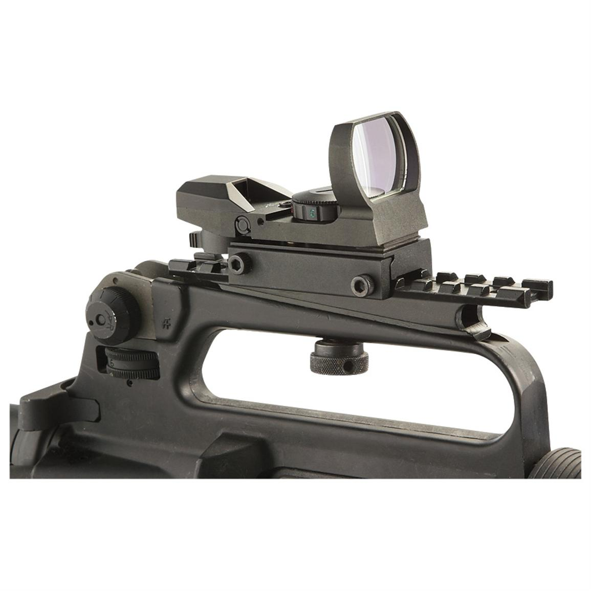 GMG® Red Multi-reticle Reflex Sight