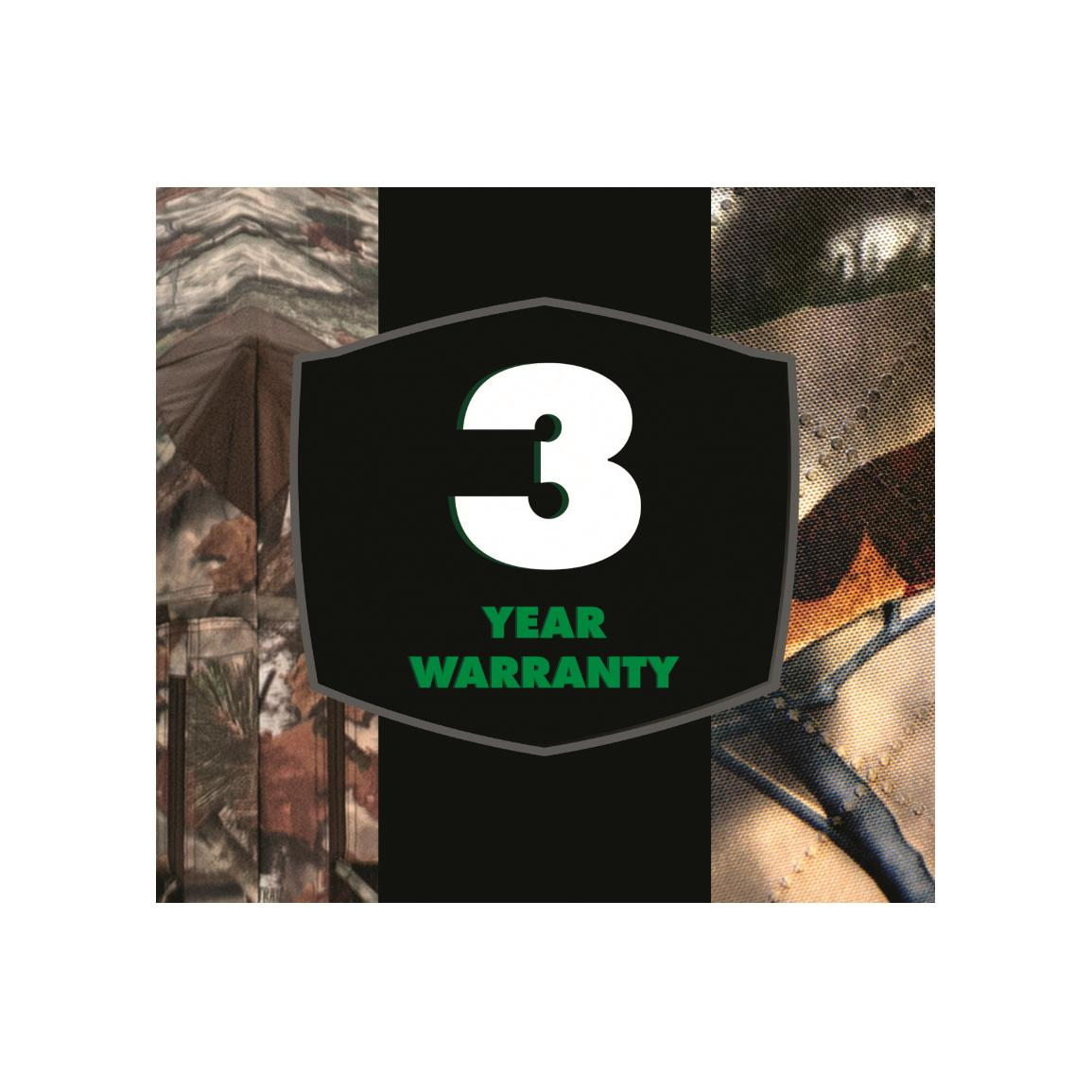 3 Year Manufacturers warranty