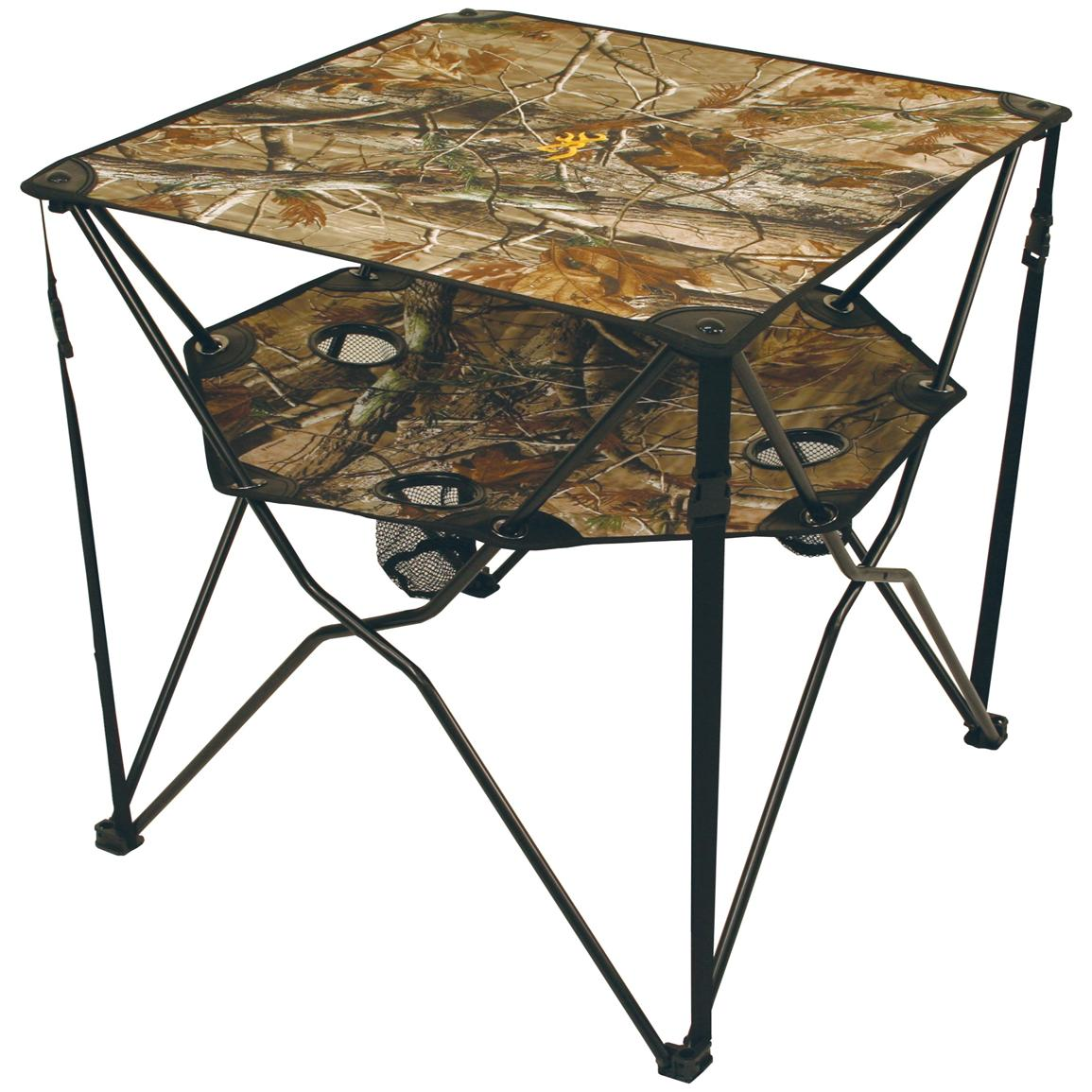 Browning® Double Barrel Portable Table