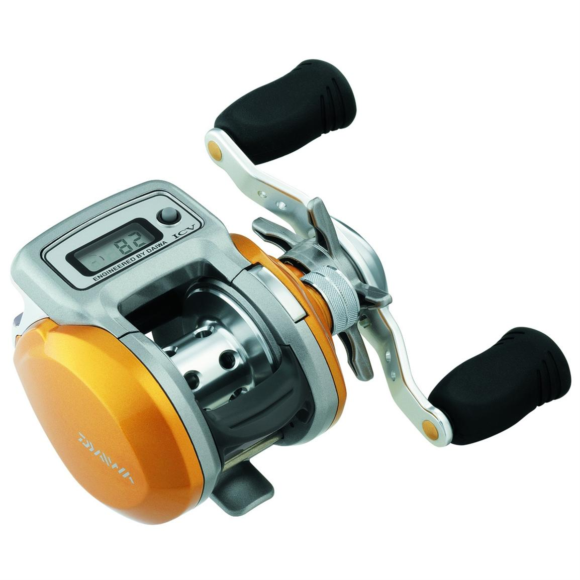 Daiwa U00ae Compact Digital Icv Line Counter Reel
