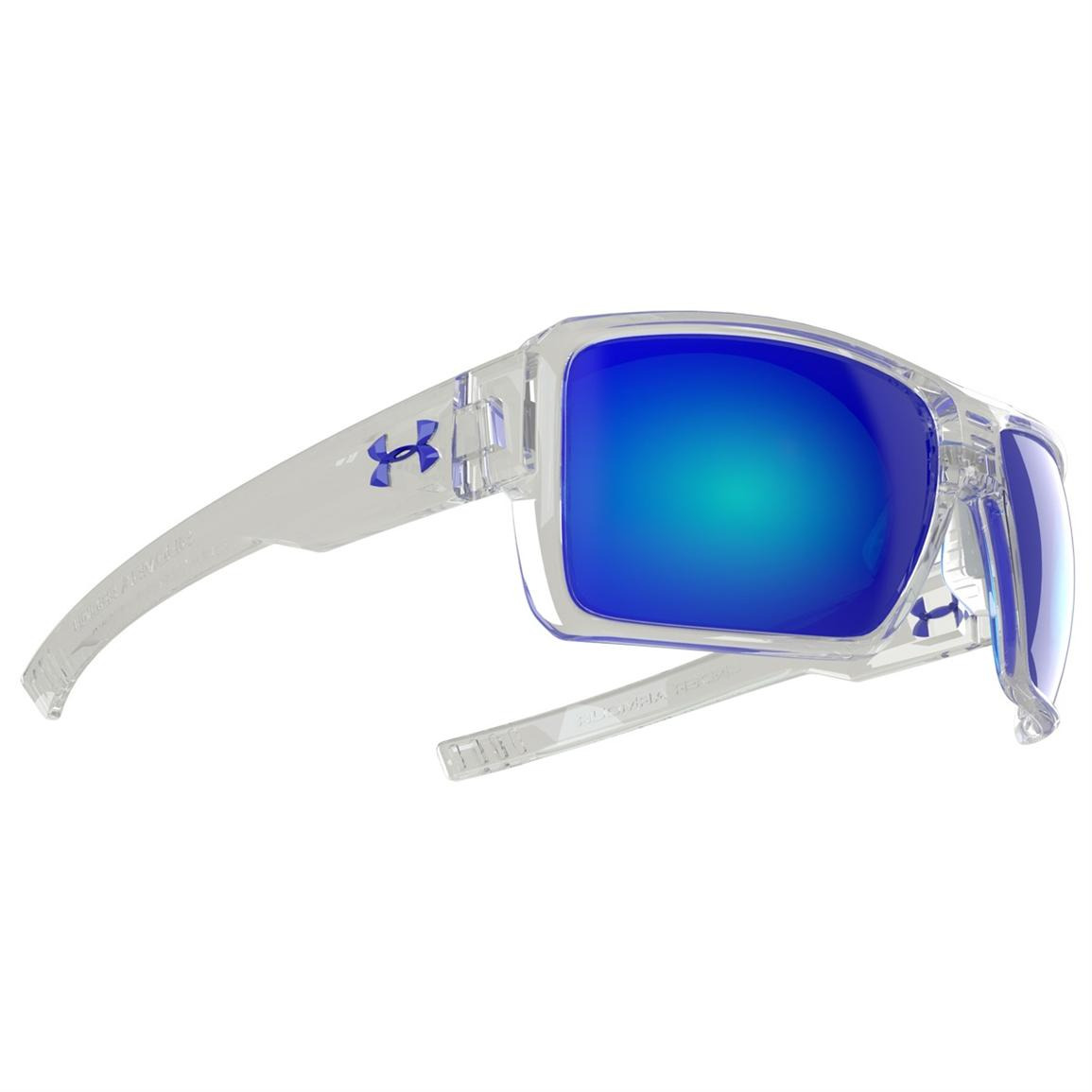 Under Armour® Striker Sunglasses with Blue Mirror Multiflection™ Lenses