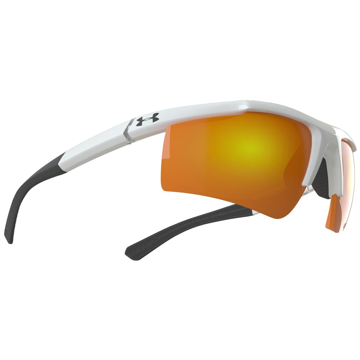 Under Armour® Core Sunglasses with Orange Mirror Multiflection™ Lenses