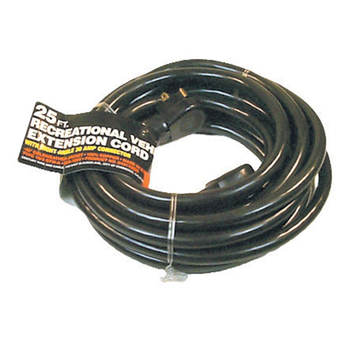 25 or 50 ft. 30-Amp Extension Cord
