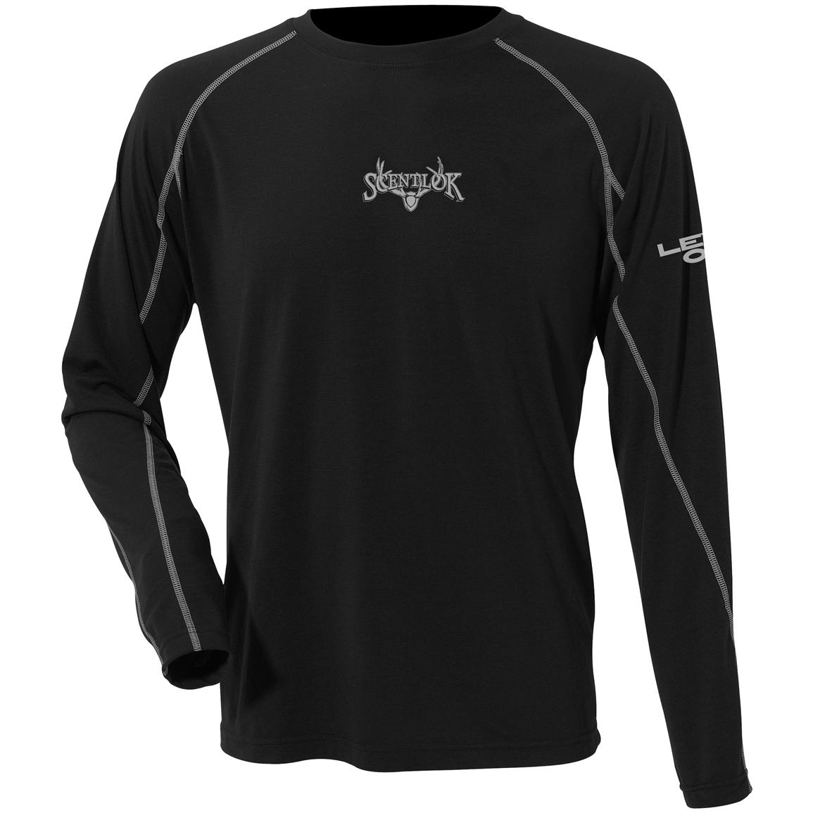 ScentLok® Level One™ Midweight Long-sleeved T-Shirt, Black