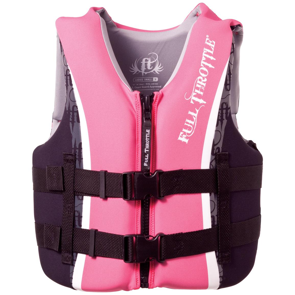 Women's Full Throttle® Flex-Back Ski Vest