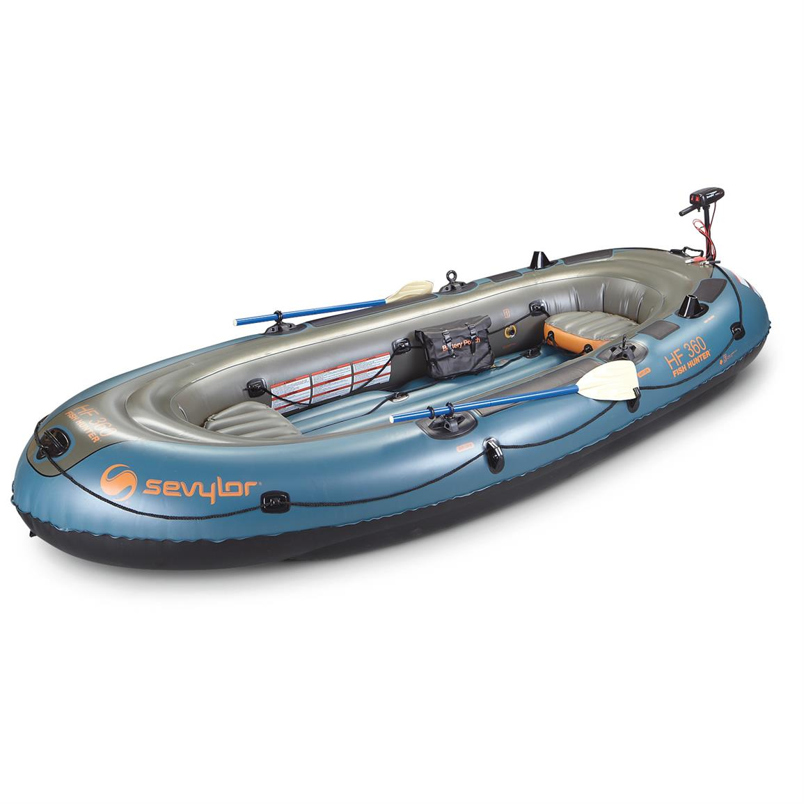 Sevylor Fish Hunter Inflatable Boat and Motor Kit