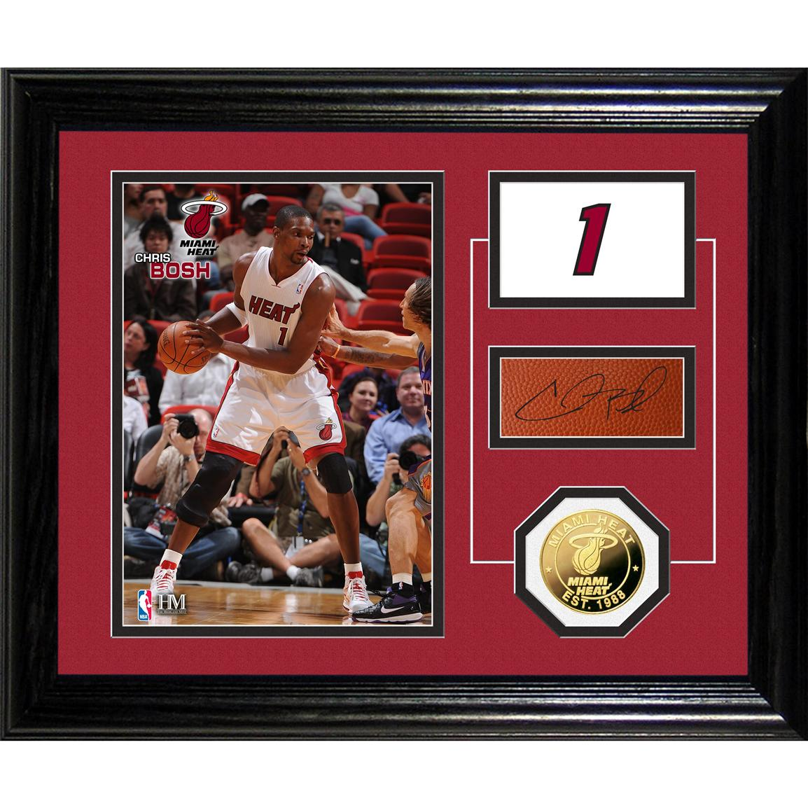 Chris Bosh Player Pride Desk Top Photo Mint