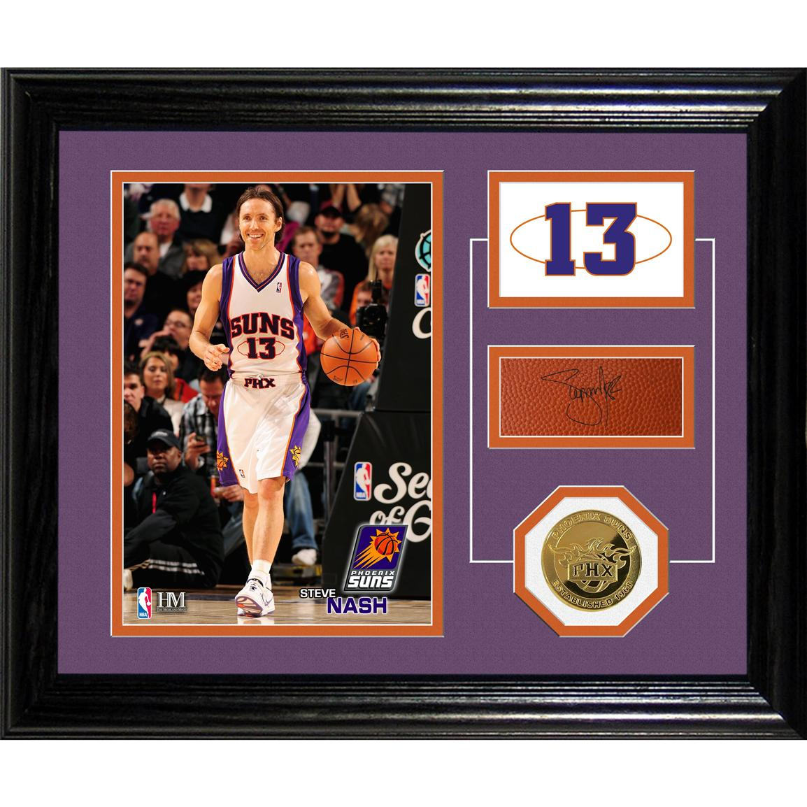 Steve Nash Player Pride Desk Top Photo Mint