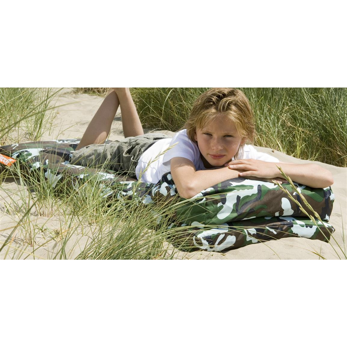 Smooff® Kidzzz Lounge Mattress, Tough Camo